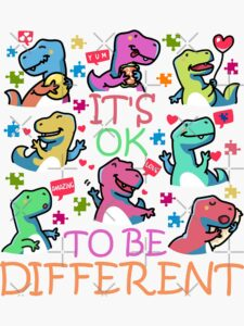 Searching for Autism Dino and Awareness for Autistic Spectrum T-rex, autistic dino fan outfit for A-S-D and autistic disorder child, Adults, Men, Women, kids or dinosaurs children fan this is for you! Remember you are a cute Dino A-S-D! Autistic Awareness